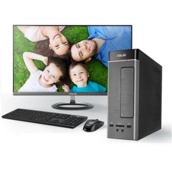ASUS 華碩 K20DA-0031A621UMT A4-6210四核獨顯級 Win10 迷你桌上型電腦+VX229H 21.5吋電腦螢幕 超值組