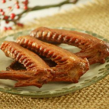 【松村燻之味】辣味8包組滷之總匯C(鴨翅x2包+翅小腿x2包+雞腳x2包+雞脖子x1包+燻滷蛋x1包)