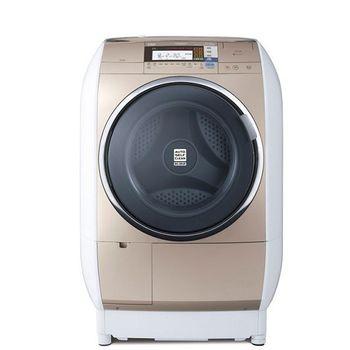 雙重送【HITACHI日立】13KG日製左開蒸氣風熨斗滾筒式洗脫烘洗衣機SFBD3900T(N)