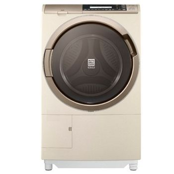 好禮送【HITACHI日立】11.5KG日製左開溫風噴霧尼加拉飛瀑滾筒式洗脫烘洗衣機SFSD3100W