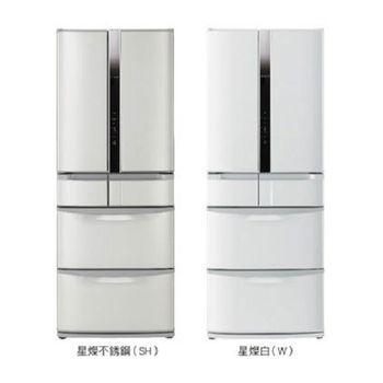 好禮送【HITACHI日立】475L日製六門變頻智慧控制冰箱RSF48EMJ(不鏽鋼SH)