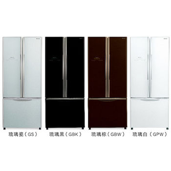 好禮送【HITACHI日立】483L變頻三門對開冰箱RG470(黑)