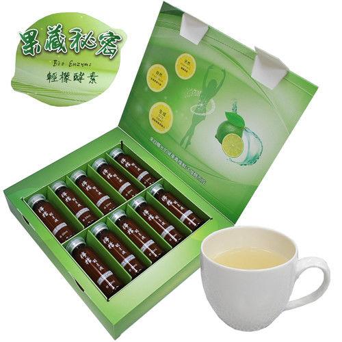 【標達BUDER】果藏秘密輕檬酵素(20MLx10罐/盒)x12盒搶孅分享組