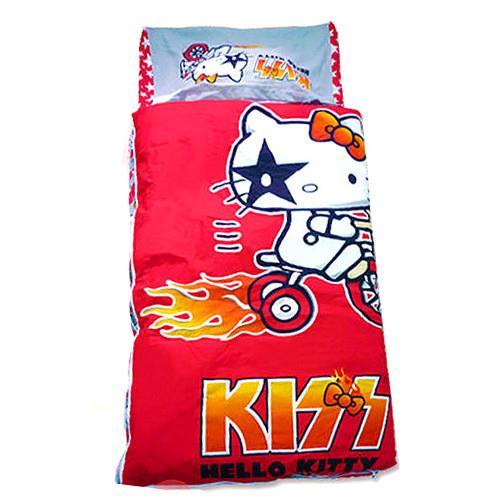 【凱蒂貓HELLO KITTY】kT熱火舖棉兒童睡袋-(4*5尺)