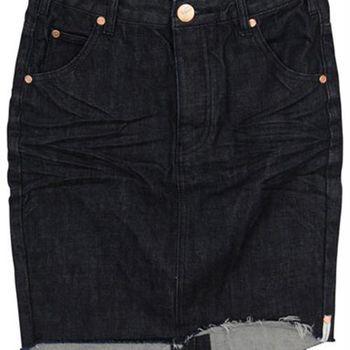 OneTeaspoon RAW 2020 牛仔窄裙 OTS - 懷舊黑 - 女裝