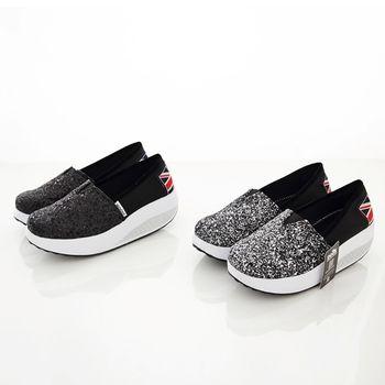 《DOOK》閃亮銀蔥美型健走鞋/搖搖鞋-2色
