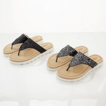 《DOOK》璀璨星空夾腳拖鞋-2色
