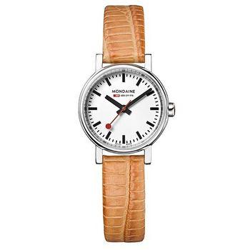 MONDAINE 瑞士國鐵限量腕錶/26mm-古銅橘 (65811SO)