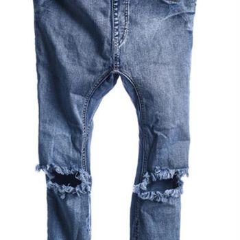 OneTeaspoon PHOENIX KILLERS 牛仔褲 OTS - 懷舊藍/刷白牛仔- 女裝