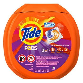 美國汰漬Tide 新一代洗衣凝膠球(1810g/72顆)*1