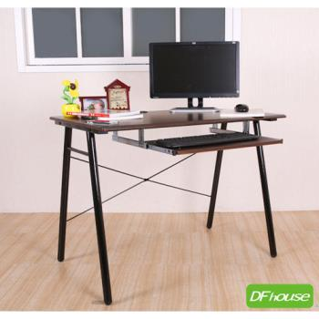 《DFhouse》羅浮宮A字附鍵盤電腦桌
