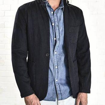 OneTeaspoon MR. SMITH JACKET 牛仔夾克   好萊塢破褲單寧時尚 OTS - 男 (黑)