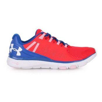 【UNDER ARMOUR】UA LIMITLESS女訓練鞋-健身 紅藍白