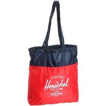 【Herschel】2016時尚紅寶藍色可壓縮手提包(預購)