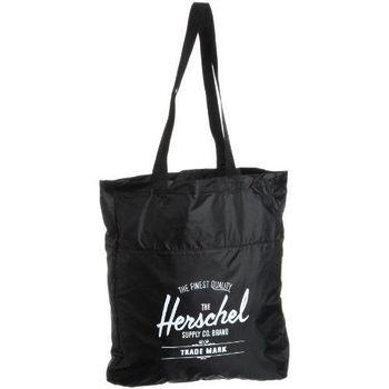 【Herschel】2016時尚黑色可壓縮手提包(預購)