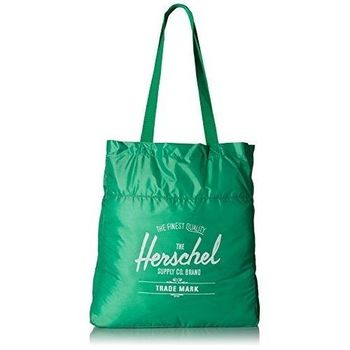 【Herschel】2016時尚綠色可壓縮手提包(預購)