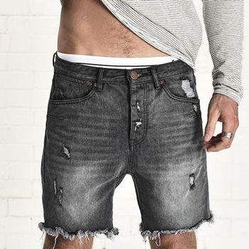 OneTeaspoon LE FEMME MR. BLACKS 牛仔短褲- MR. BLONDES | 好萊塢破褲單寧時尚 OTS - 男 (刷洗黑)