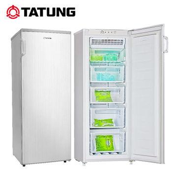 【TATUNG大同】158公升直立式冷凍櫃TR-158SFH-S 送安裝