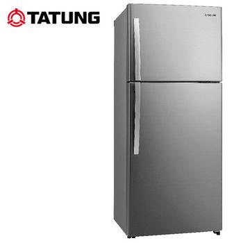 【TATUNG大同】480L環保1級能源雙門冰箱TR-B580VD-RS 送安裝