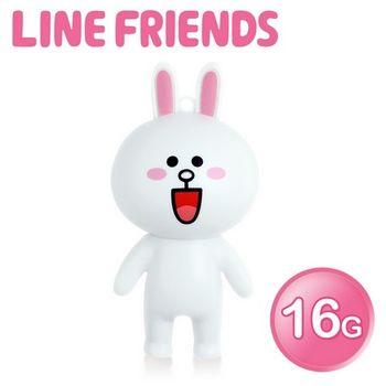 LINE FRIENDS 16GB 立體造型隨身碟-兔兔 (WH-LN223C)