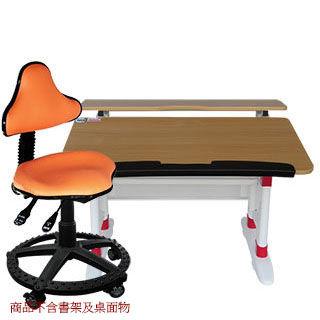 【第一博士】T8手搖成長書桌椅組(原木色)