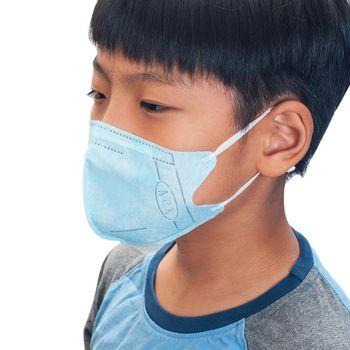 AOK 飛速 一般醫用立體小尺寸口罩 50入/盒 淡藍色S號