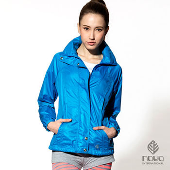 【NOYA】時尚運動防曬外套-氣泡藍