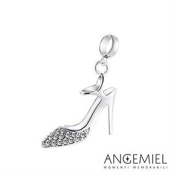 Angemiel安婕米 925純銀珠飾 閃亮高跟鞋 吊飾