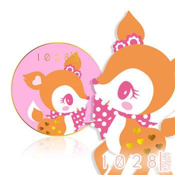 1028超吸油蜜粉餅x哈妮鹿限定版(粉色)