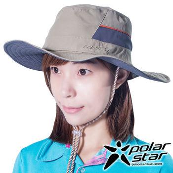 PolarStar 圓盤帽 牛仔帽『卡其』P16516 抗UV帽