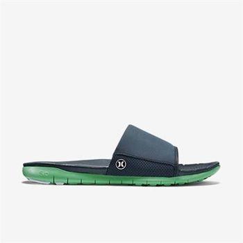 Hurley 幻影系列(超機能) - PHANTOM FREE SLIDE SANDAL 拖鞋 -男(綠)