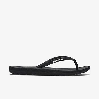 Hurley - WOMEN S ONE  ONLY SANDAL 人字拖 - 女(黑)