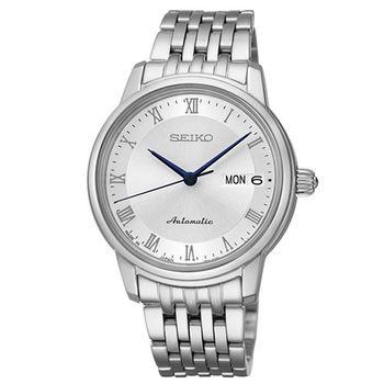 SEIKO Presage 經典時刻4R36機械腕女錶(SRP887J1)-銀/34mm/4R36-04F0S