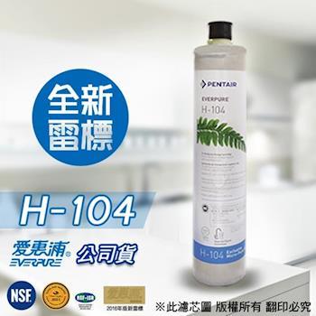 EVERPURE 愛惠浦原廠公司貨 H104濾心