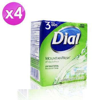 【美國  Dial 】綠色原野香皂 (4oz 3入) 4入組