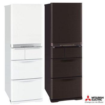 買就送-『MITSUBISHI』三菱 420L日製五門變頻電冰箱 MR-B42T
