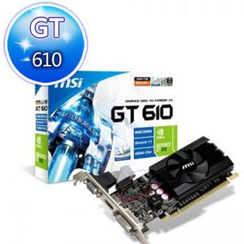MSI 微星 N610-MD2GD3/LP 顯示卡