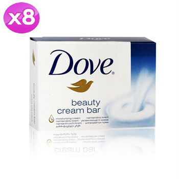 【美國  Dove】香皂(清新香) 135g 8入組