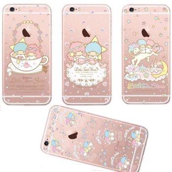 【雙子星】iPhone6 /6s 彩鑽透明保護軟套
