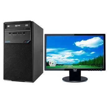 ASUS 華碩 D320MT-0G39000074 G3900雙核 Win7Pro 桌上型電腦+VE198T 19吋電腦螢幕 超值組