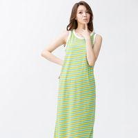 Wonderland 搶眼活力 休閒居家洋裝 #40 黃藍 #41