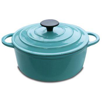 鍋寶琺瑯鑄鐵鍋歐風品味組