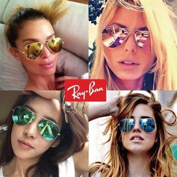 【Ray Ban 雷朋】RB3025飛官型水銀系列太陽眼鏡#小版(多款任選均一價)