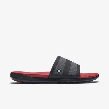 Hurley X Nike Free 科技 - PHANTOM FREE SLIDE 拖鞋 - 男(紅)