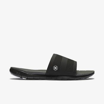Hurley X Nike Free 科技 - PHANTOM FREE SLIDE 拖鞋 - 男(黑)