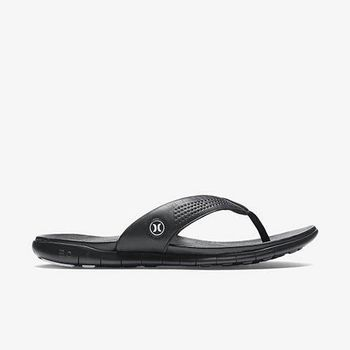 Hurley X Nike Free 科技 - PHANTOM FREE ELITE SANDAL 人字拖 - 男(黑)