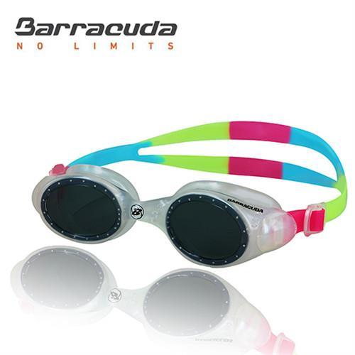 美國巴洛酷達Barracuda兒童競技型抗UV防霧泳鏡-UVIOLET#33620