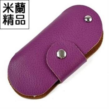 【米蘭精品】鑰匙包男女皮套汽車機車家用鑰匙實用真皮9色