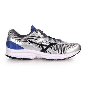 【MIZUNO】SPARK男慢跑鞋 - 路跑 美津濃 淺灰黑藍