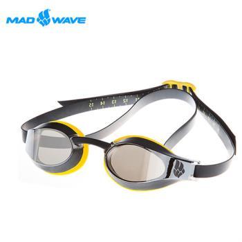 俄羅斯MADWAVE成人泳鏡X-LOOK MIRROR送Barracuda矽膠耳塞